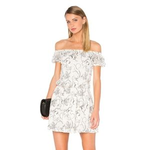 Alice & Olivia Silk Lace Dress